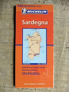 Cartina Stradale Michelin Italia.Sardegna Carta Stradale E Turistica Michelin 1 350 000 Ebay