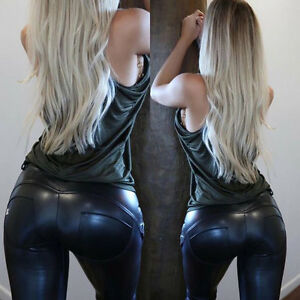 Sexy Lederstrumpfhose