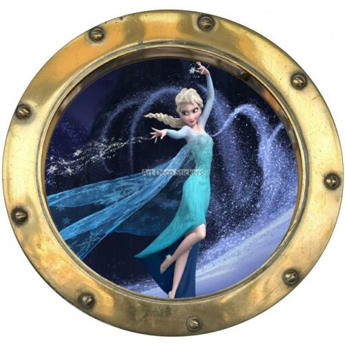 Sticker hublot enfant La Reine des Neiges 9517 9517