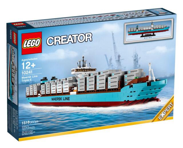 LEGO Creator Maersk Containerschiff (10241). TOPZUSTAND. OVP. UNGEÖFFNET !!!