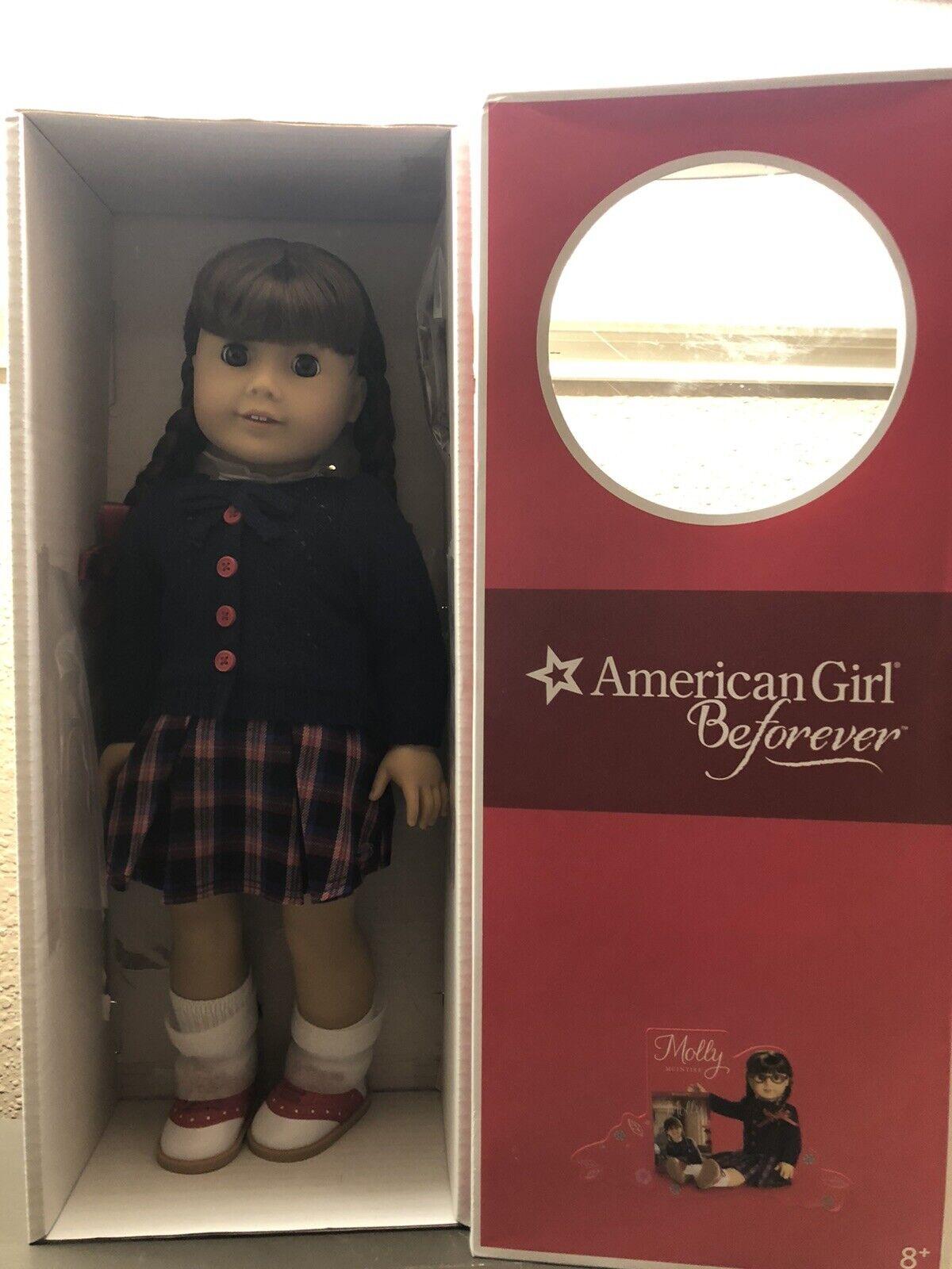 NIB American Girl Molly Doll Retirot Beforever