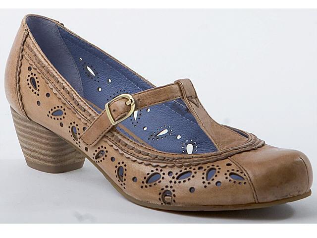 Piazza 930189-22 Damenschuhe Pumps Ballerinas Leder Schuhe braun Gr.36-42 Neu3