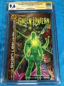 Just-Imagine-Stan-Lee-Creating-Green-Lantern-1-DC-CGC-SS-9-6-2x-Signed