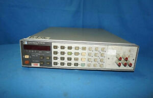 HP-Agilent-3456A-Digital-Voltmeter-As-Is