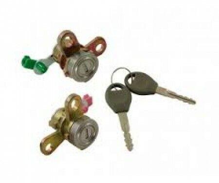 For Nissan Almera N16 2000-2006 New Front Door Lock Barrel Cylinder /& Keys