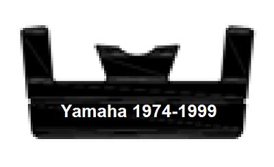 UHMW Hyfax Slides for YAMAHA 1996-2006 pair RX-1 VMax SX Venture SRX BLACK