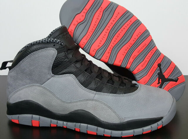 Size 14 - Jordan 10 Retro Cool Grey