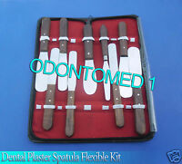 Dental Plaster Spatula Flexible Kit