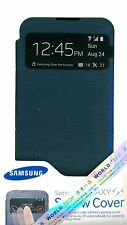 Genuine Samsung EF-CI950BB S View Flip Cover Case for Galaxy S4 S IV i9500 Black