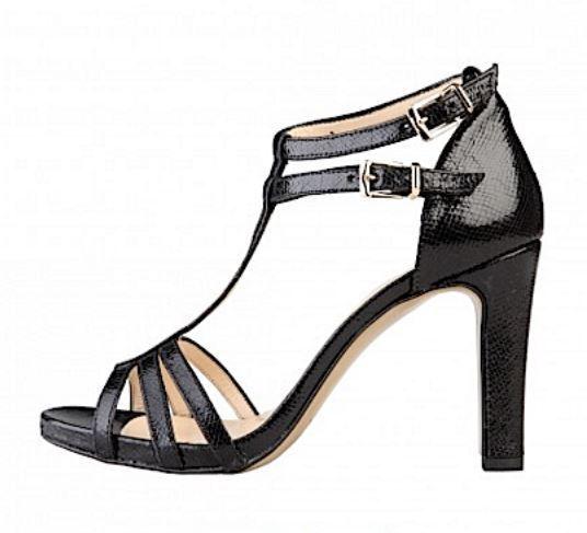 Versace V1969 OLYMPE schwa Highheel Echtleder Stiefelette Sandalette Gr 41