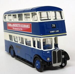 EFE-1-76-Scale-10114-Bradford-Double-Deck-RT-RTL-Diecast-Model-Bus