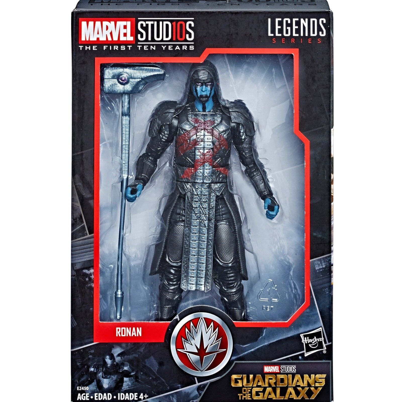 MARVEL LEGENDS 10th Anniversary Cinematic Universe 006 Guardians of Galaxy Ronan