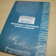 Toyota 7fgu15 7fgu18 7fgu20 7fgu25 7fgu30 7fgcu20 7fgcu25 Forklift Parts Manual