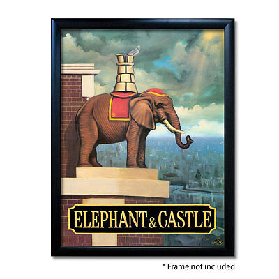 25 ELEPHANT /& CASTLE Pub Sign BEER MATS COASTERSPub World Memorabilia