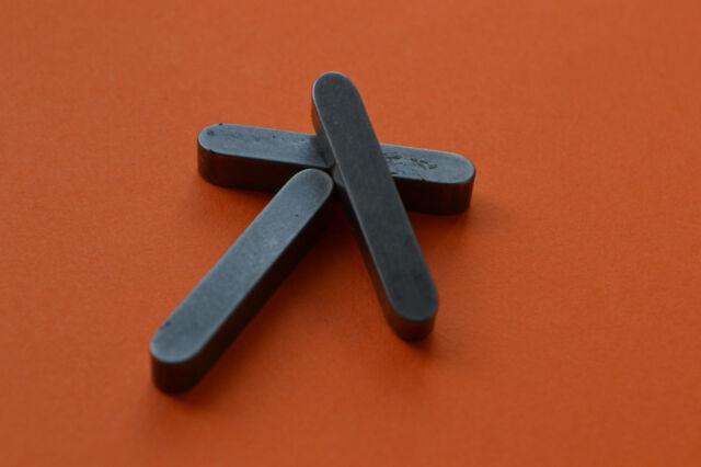 Round Ended Feather Parallel Key keysteel drive keys shaft 2mm 3mm 4mm 5mm 6mm