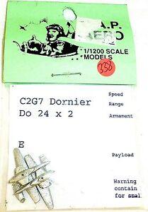 2-Avion-C2G7-Dornier-Do-24-Cap-Cap-Aero-pour-Modele-de-Bateau-1-1200-SHP338-A