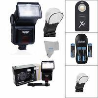 Speedlight Slave Flash For Nikon D7100 D7000 D5100 D3200 D3100 By Vivitar/ Cloth