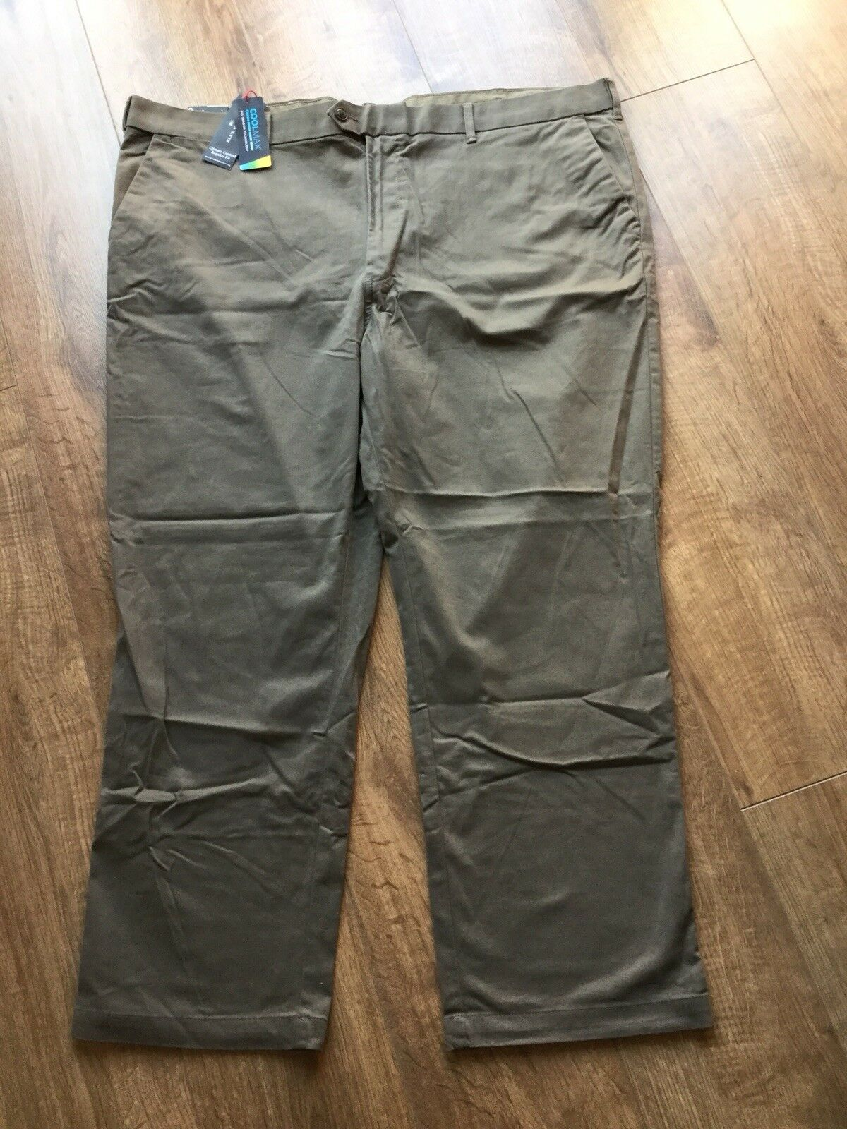 "BNWT Mens M&S bluee Harbour Trousers Size 48"" Waist   29"" Inside Leg - RRP .50"