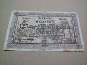 German 1923 banknote f