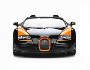Rastar-1-18-Bugatti-Veyron-Grand-Sport-Vitesse-Diecast-Model-Car-Black-New