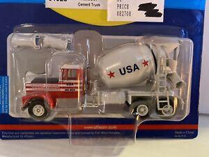 Athearn-HO-Train-1-87-Scale-Kenworth-Cement-Mixer-Truck-USA-Concrete-Ready-Mix