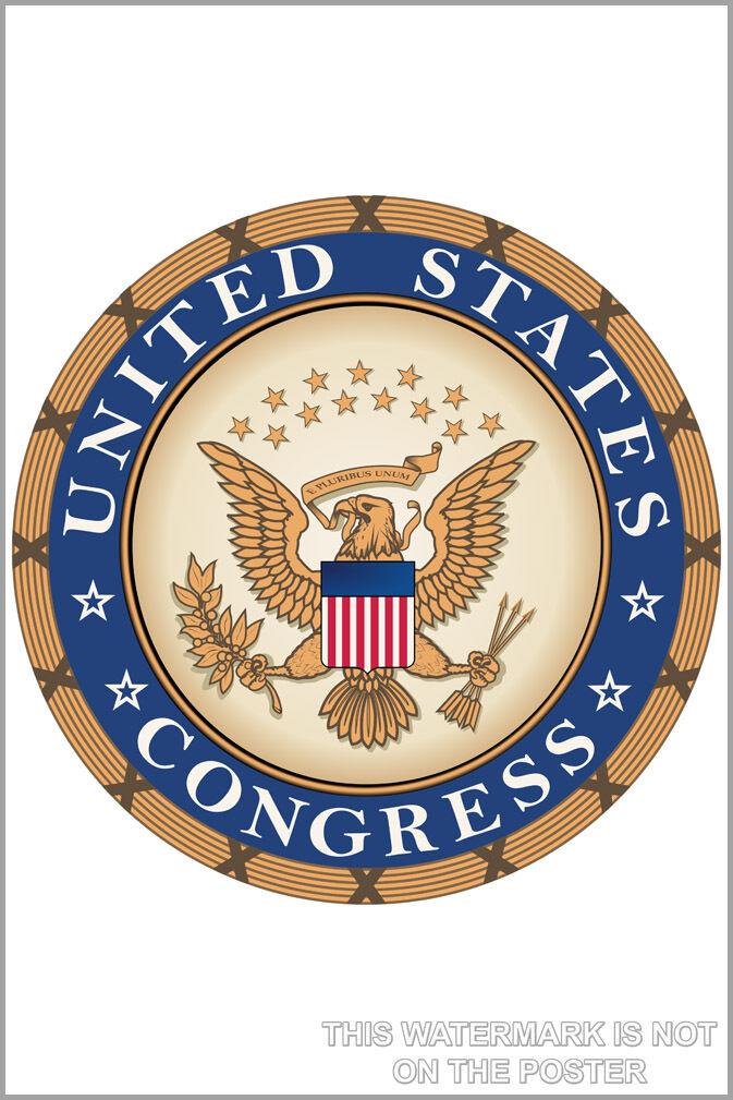 Plakat, Viele Größen; Vereinigte Staaten Kongress