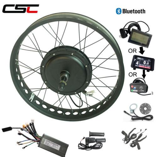 Electric Snow E Bicycle Rear Wheel Kit Motor 26inch 500W 1000W 1500W 48V ebike