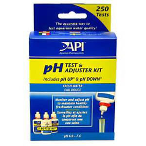 Api Ph Test And Adjuster Test Kit For Freshwater Fashionable Patterns Pet Supplies