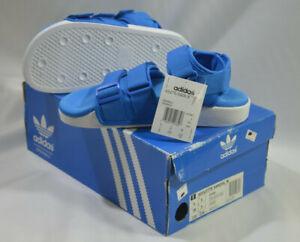 New-Adidas-Originals-Womens-ADILETTE-SANDAL-W-S75381-BLUE-US-6-UK-5-J225-SLIDE