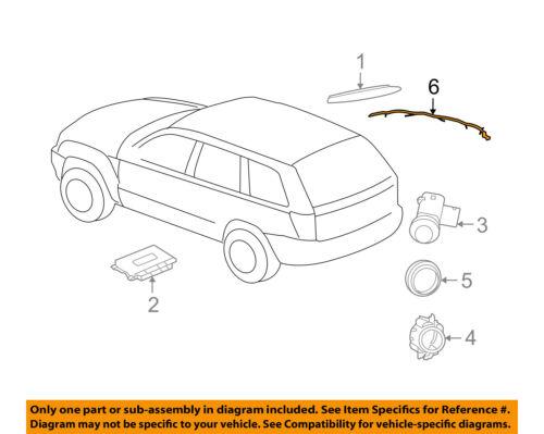 Jeep CHRYSLER OEM-Engine Control Module ECM PCU PCM Wiring Harness 5159098AA