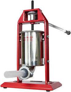 New-VIVO-Sausage-Stuffer-Vertical-Stainless-Steel-3L-7LB-5-7-Pound-Meat-Filler