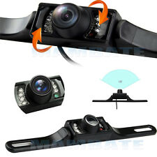 Waterproof Wide Angle License Plate Car Rear View Backup Camera Night Vision