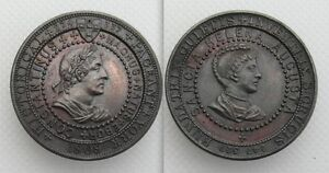 Rare-Collectable-Commemorative-1909-Medal-York-Historical-Pageant