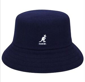 7f403c46444 ... canada image is loading kangol wool lahinch bucket hat navy style  k3191st ac665 515a8