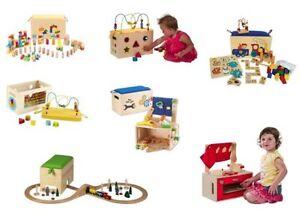 Kidstoy Jouet Créatif Bois Blocs De Construction Chemin Fer Cuisine Jouets