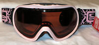 $90 Scott Radiant Womens Soft Pink Winter Ski Snow Goggles Ladies Spy Winter