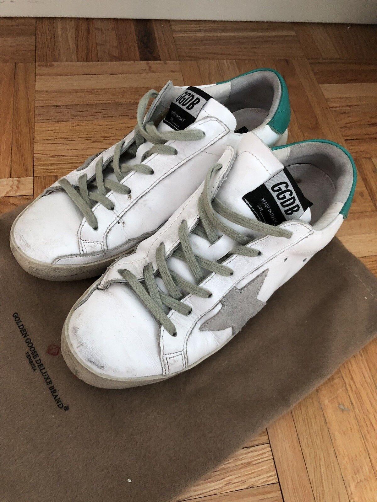 Golden Goose Superstar Sneaker White/green Size 37