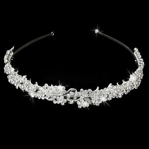 Wedding-Crystal-Flower-Headband-Hairband-Bride-Bridesmaid-Bridal-porm-Tiara-s