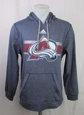 reputable site 6bacc db8cc Colorado Avalanche Men's XL, 2XL Pullover Climawarm Hoodie NHL adidas | eBay
