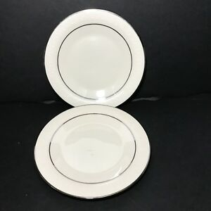 Franciscan-Masterpiece-MOONGLOW-Bread-and-Butter-Plates-Lot-of-2-Made-in-USA
