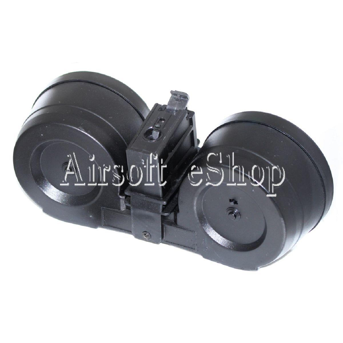 Revista De Tambor Battleaxe 2500rd Airsoft eléctrico  C-Mag Para G36 AEG Negro  Compra calidad 100% autentica