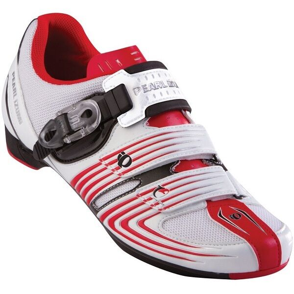 Pearl Izumi Road Race 2 Cycling Shoe - White/Red - Size EU 44