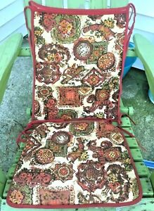 Incredible Details About Vintage 70S Colonial Bicentennial Rocking Chair Cover W Original Bag Lamtechconsult Wood Chair Design Ideas Lamtechconsultcom