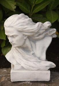 Buste petit tête figurine Jet de Pierre Neuf frotfest jardin ...
