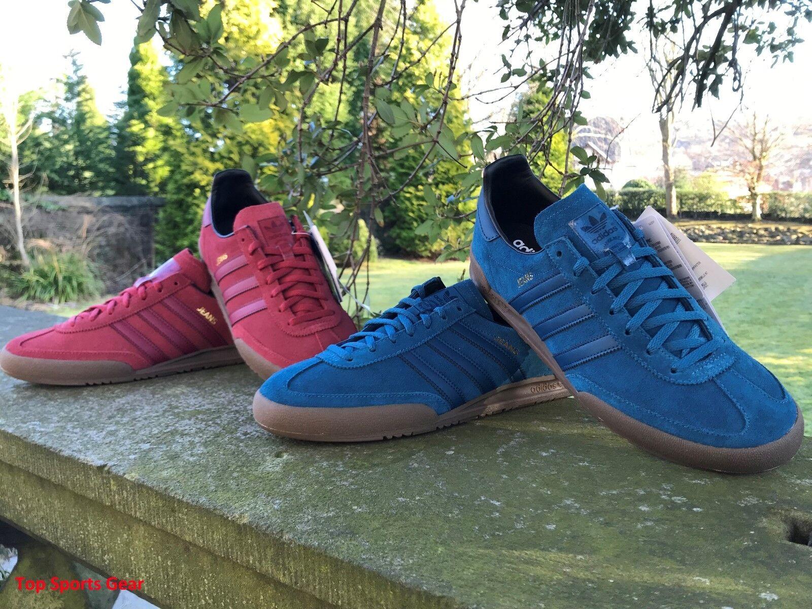 Adidas Originals Boys  Uomo Jeans Fashion Trainers UK ROT Blau BNIBWT Größes UK Trainers 3 -13 257ccf