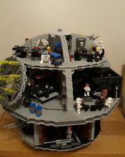 LEGO 10188 Star Wars - Death Star Boxed + lego 7778 Midi-Scale Millennium Falcon