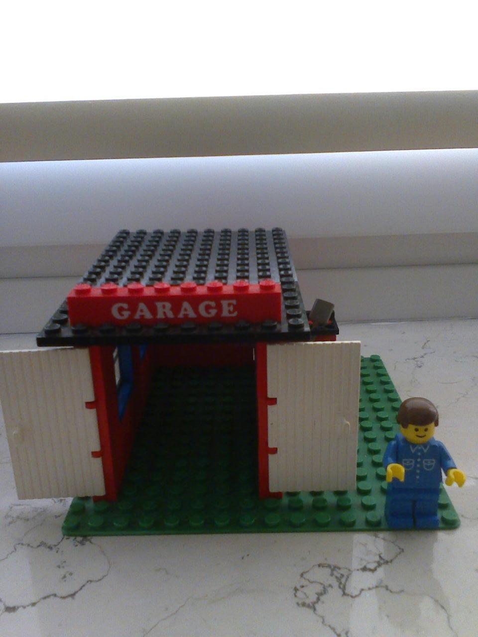 Lego 361 Garage von 1979 in Top Zustand mit Original Bauanleitung
