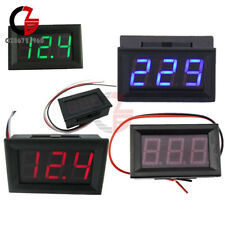 056 23wires Ac 70v 500v Dc 5v 30v120v Digital Redgreenblue Led Voltmeter