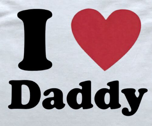 I Love Daddy Little Submissive DDLG T-Shirt