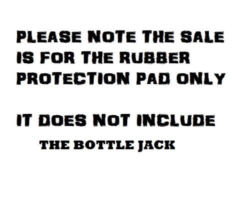Bouteille Jack Coussinet en caoutchouc avec 28 mm vacances adapté pour 5 T SGS Bouteille Jack Pad